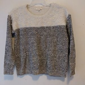 Two by Vince Camuto Sweater Eyelash Soft sz S